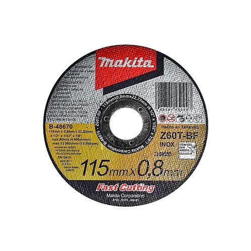 Disco Abrasivo 4-1/2 Inox B48670