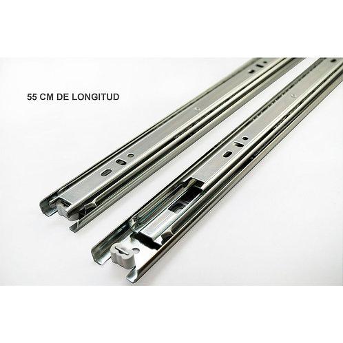 CORREDERA TL35 550MM ZINC (20) 41210055035 PASA A 4010031216