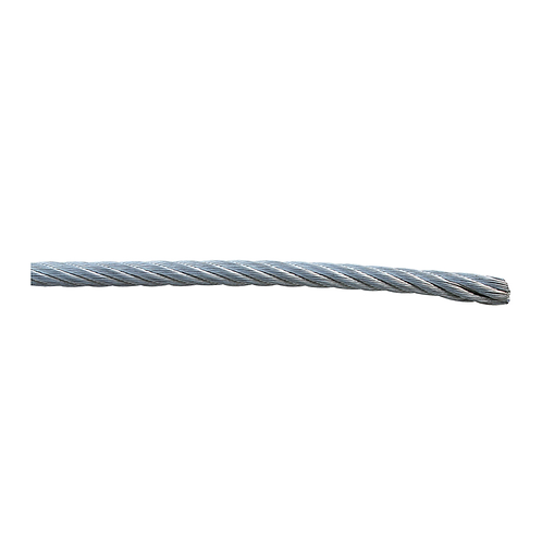 Cable De Acero Galv. Cub. De Vinil (1.58mm)(3.17mm) (150) 8505