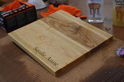 Saydie's Cutting Board
