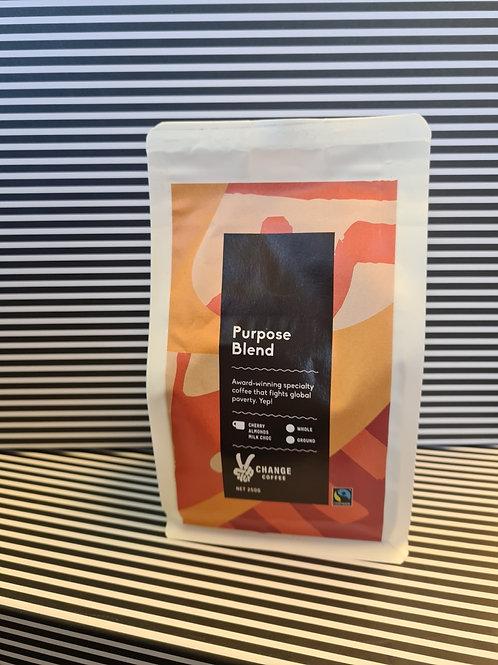 Purpose Blend Change Coffee