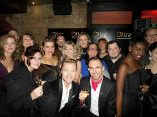 ONCE The Musical Press Night