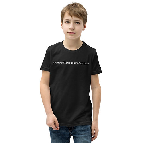 """""""Hero Car"""" Youth Short Sleeve T-Shirt"""