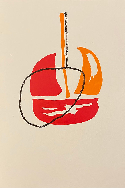 Daily Drawings - Works on Paper - Jared Pappas-Kelley