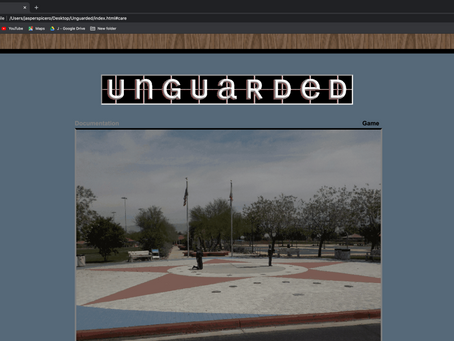 Feature: Jasper Spicero - Unguarded