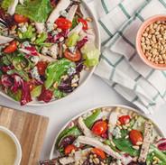 Salade faible en calories