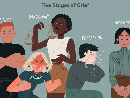 5 stages of pandemic grief