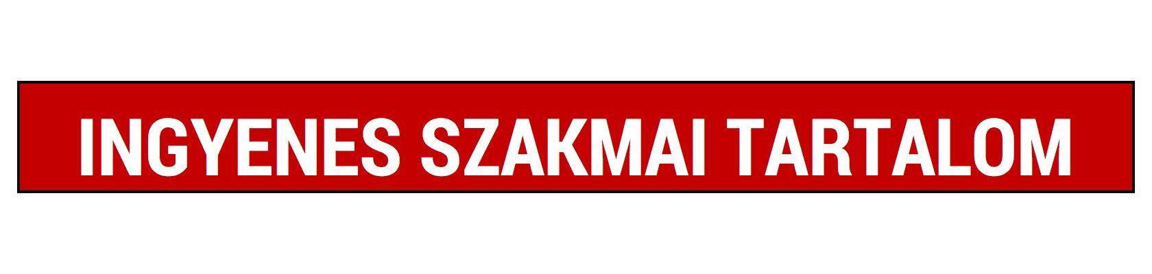 INGYENES SZAKMAI