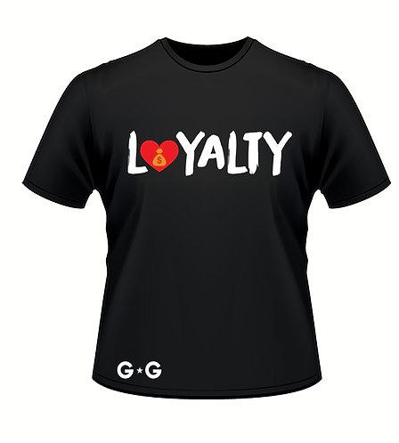 Loyalty Bold Red Heart Tee