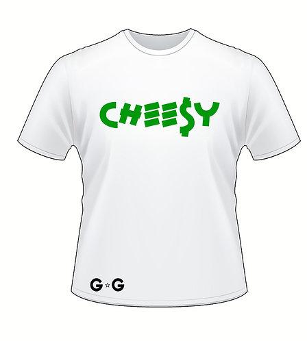 Cheesy Money Green Tee