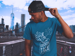 T-Shirt Mockup of a Young Black Man Wearing a Hat - BK Bridge 2.jpg