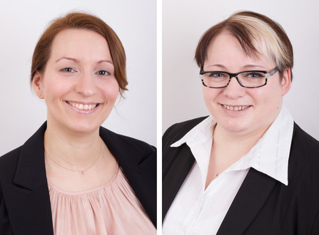 Bewerbungsfotos mit Petra und Anna