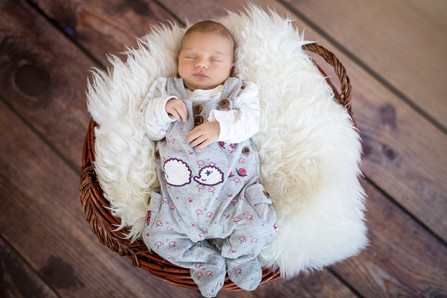 Newborn Shooting - Johanna