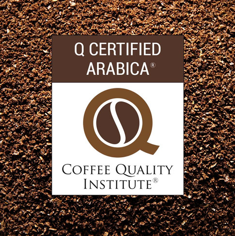 coffee quality institute, logo, breading, café
