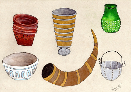 Wonky vessels from the past
