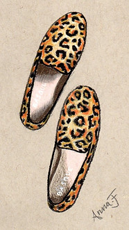 Basque flat shoes