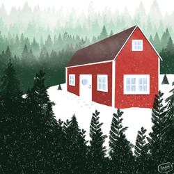 Swedish Winter Cabin