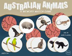 Australian Animals - a memory match game