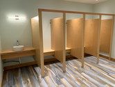 Dressing room stalls