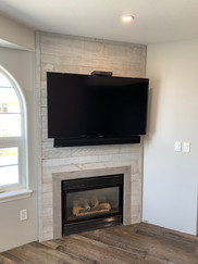 fter: With TV Mounted