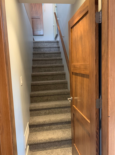 After: Stairs Up to Master Suite