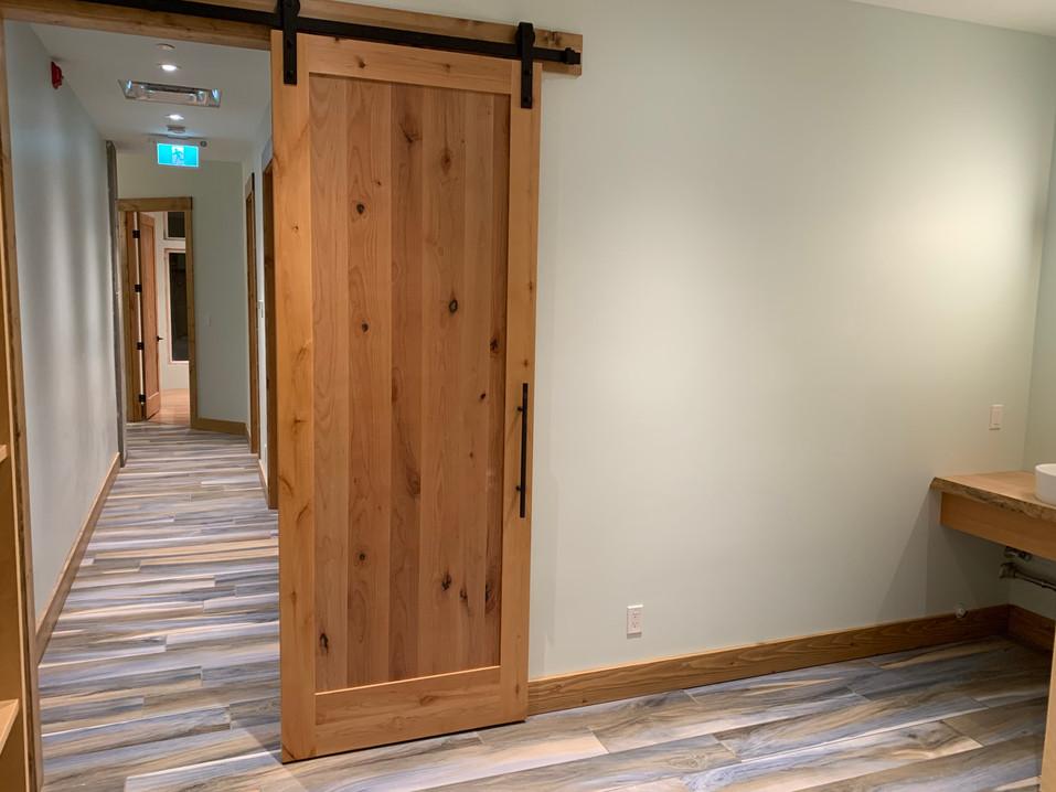Wood Barn Door