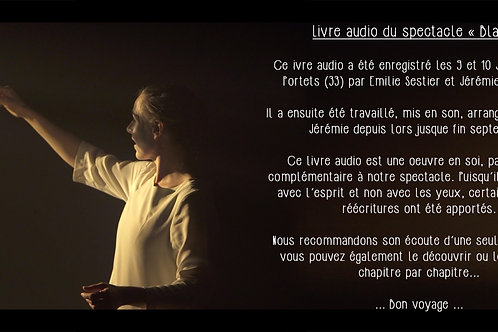 Livre audio spectacle Blanc