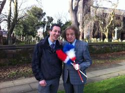 With Ken Dodd