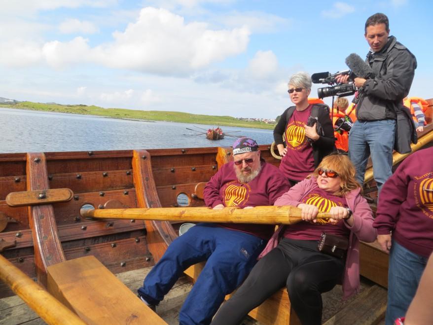 Viking boat in Norway