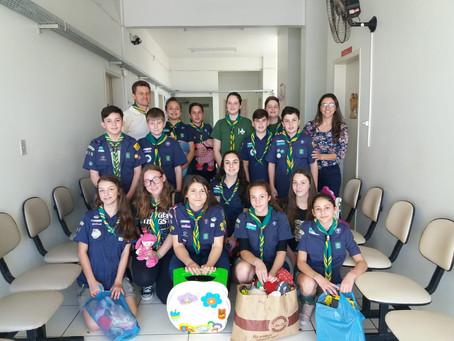 Grupo Escoteiro Jandaia faz campanha de brinquedos