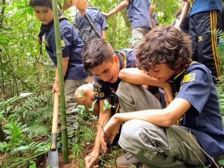 Projeto ambiental elaborado pelo Grupo Escoteiro Igrejinha é contemplado com o valor de R$20.000,00!