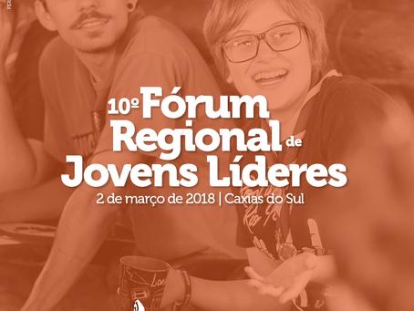 Boletim 1 do Fórum Regional de Jovens Líderes