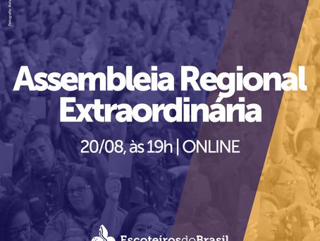 Assembleia Regional Extraordinária 2021