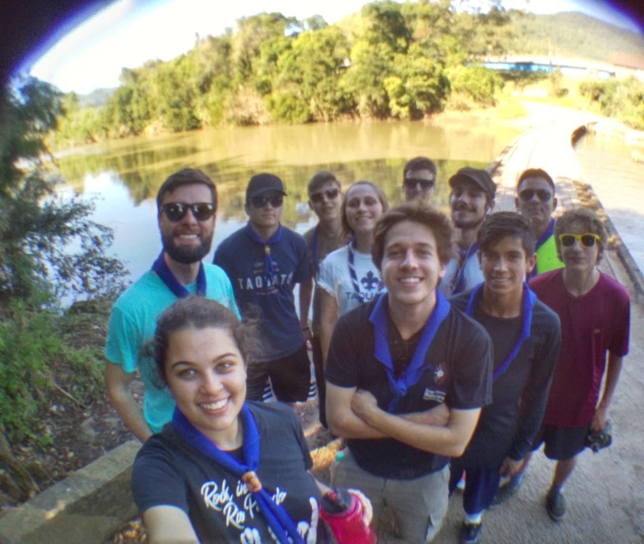 Vale Real, ponte sobre Rio Caí