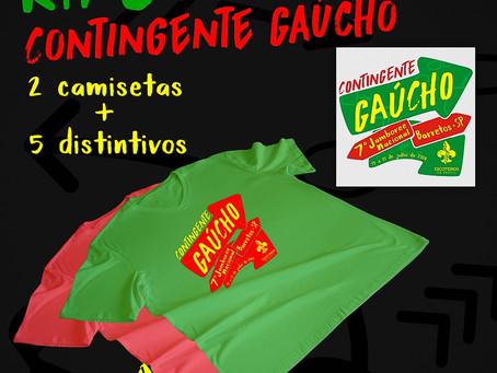 Kit do Contigente Gaúcho para o Jamboree Nacional