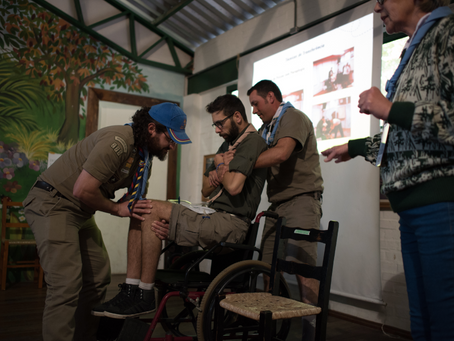 Curso Técnico incentiva a Inclusão no Movimento Escoteiro