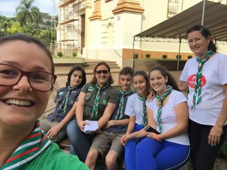 Grupo Escoteiro Roama celebra o dia Dia Mundial do Escoteiro