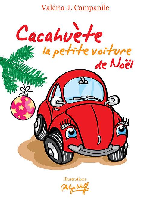 CACAHUETE .LA PETITE VOITURE DE NOEL