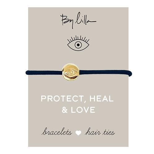 Protect, Heal, & Love Bracelet/Hair Tie