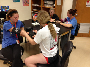 Platteville Health Careers Camp 2017