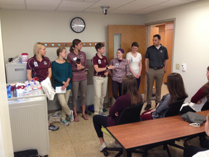 Hands on Health Day: UW-L Occupational Therapy & Physical Therapy Programs