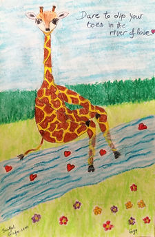 SoulfulGiraffe_Dip Toes in the River of