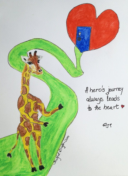 SoulfulGiraffe_Hero's Journey to the Hea