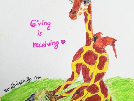 Giving is Receiving💗