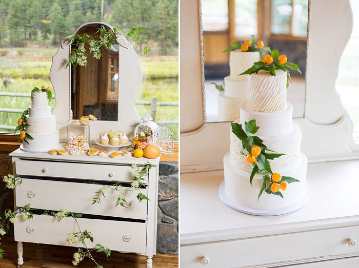Orange Blossom Wedding