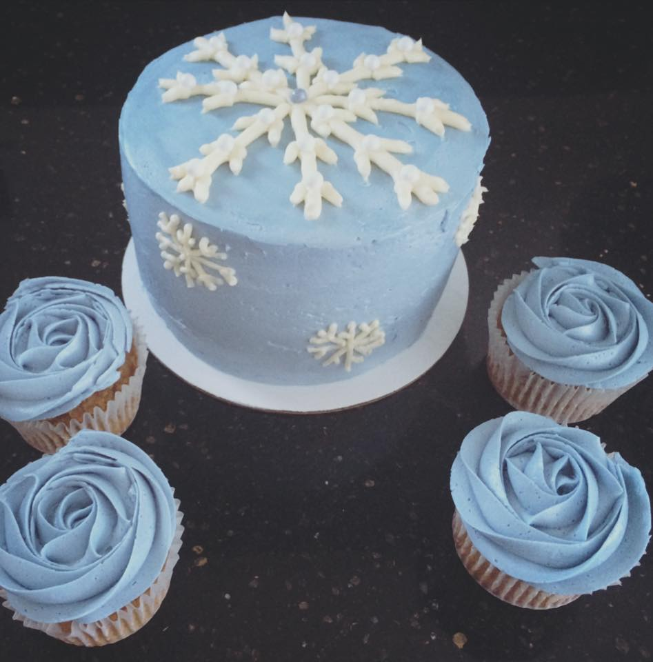 Snowflakes and Roses