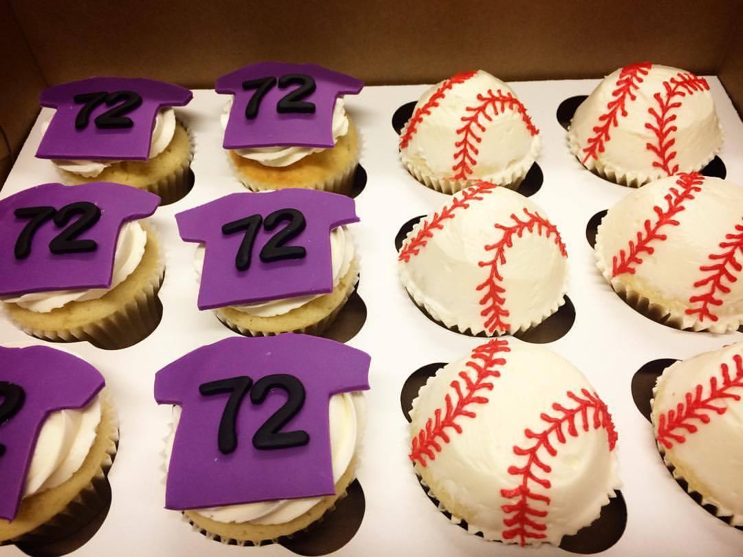 Rockies Cupcakes