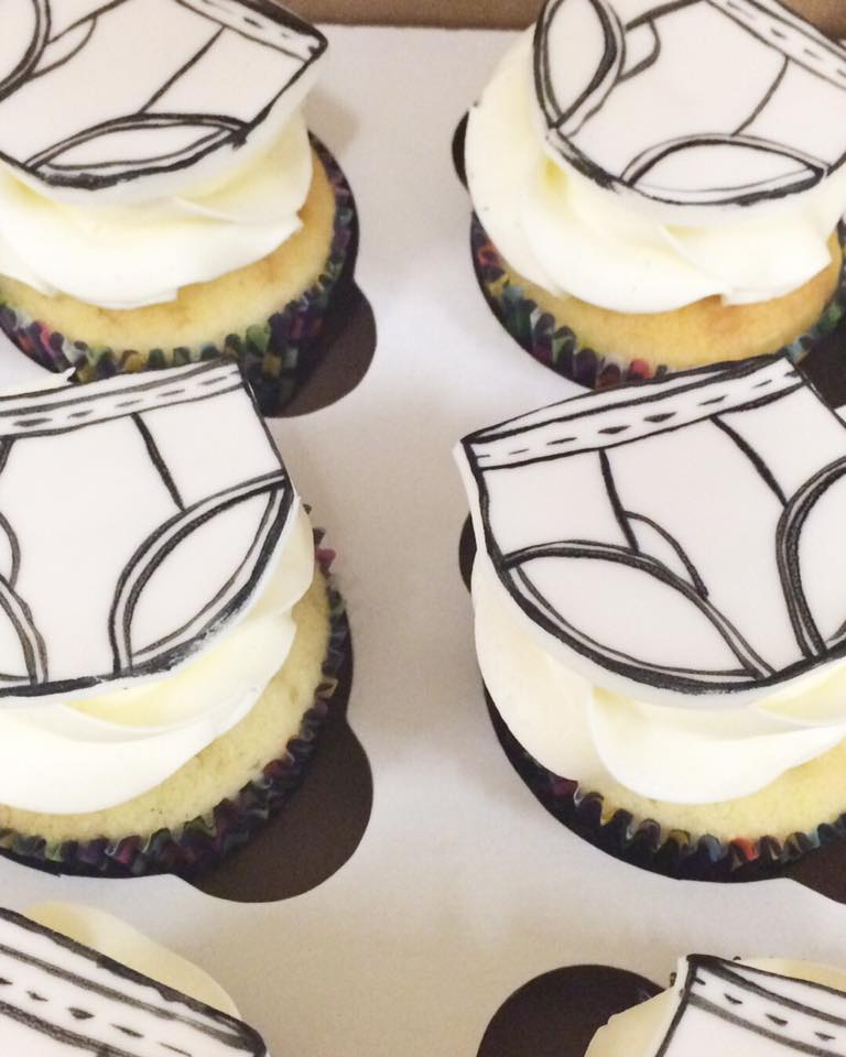 Undies Cupcakes