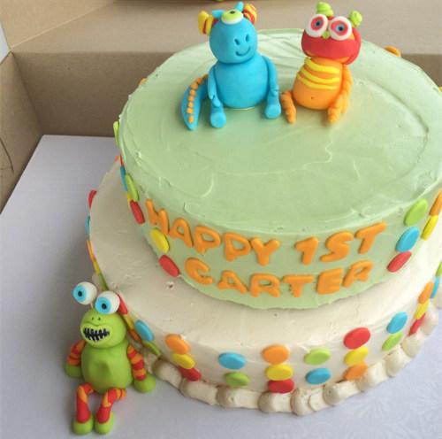 Cute Critters Cake
