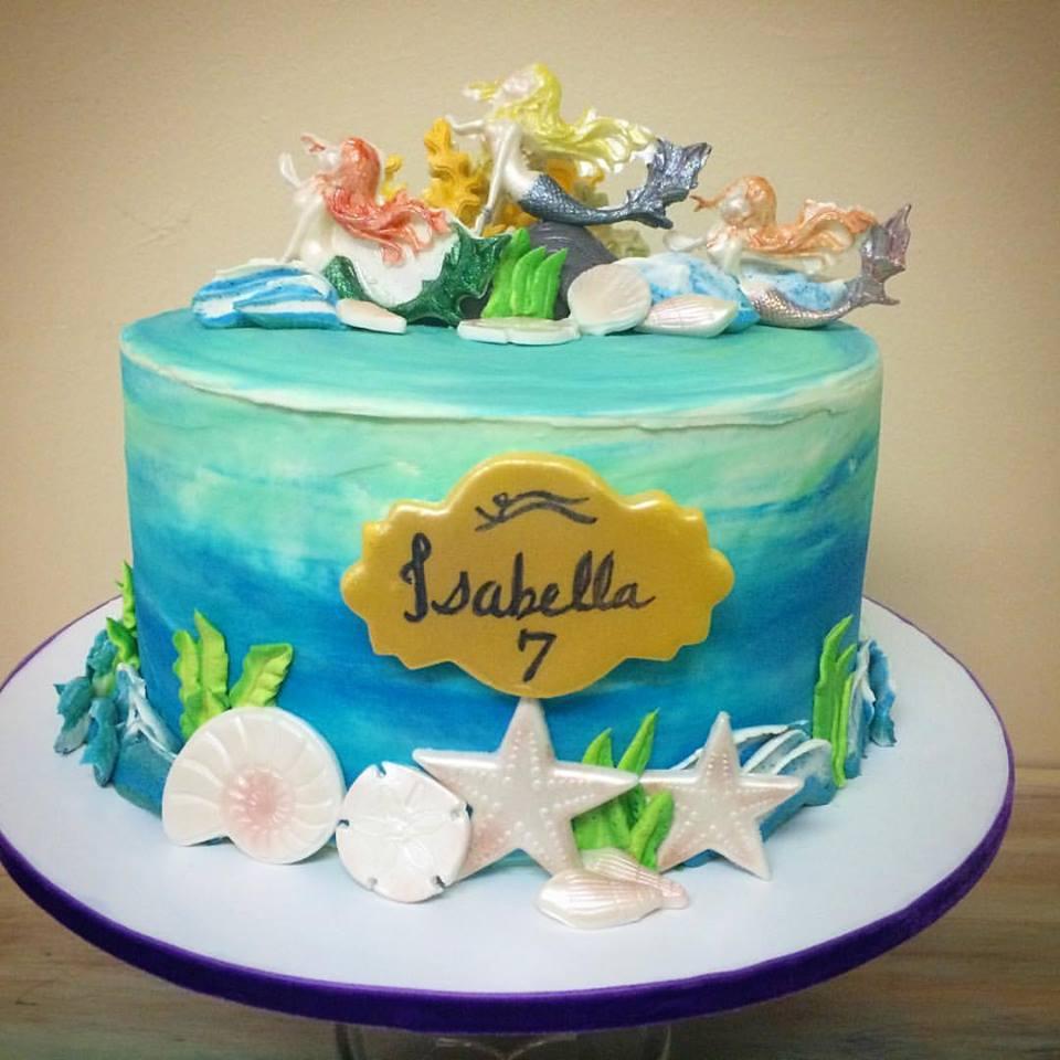 Mermaids Cake